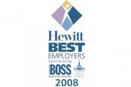 The GPT Group Best Employers - Highly Commended - Hewitt Best Employers (Australia and New Zealand Study)