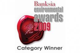 Awarded the 2009 Banksia Foundation's Large Business Sustainability Award