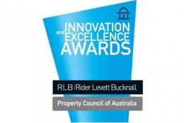 Winner of the 2009 Property Council of Australia/Rider Levett Bucknall Innovation and Excellence Awards