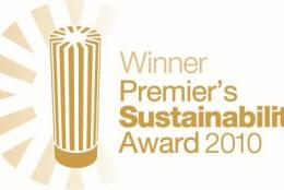 2010 Winner of the Victorian Premier's Sustainability Large Business Award