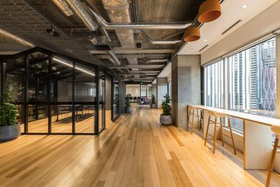 Space&Co.'s newly expanded venue at Melbourne Central Tower
